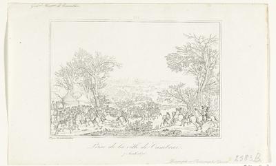 De Fransen veroveren Cambrai, 1676; Prise de la ville de Cambrai. 7 Avril 1676
