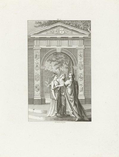 Allegorie op de nieuwe psalmberijming, 1773