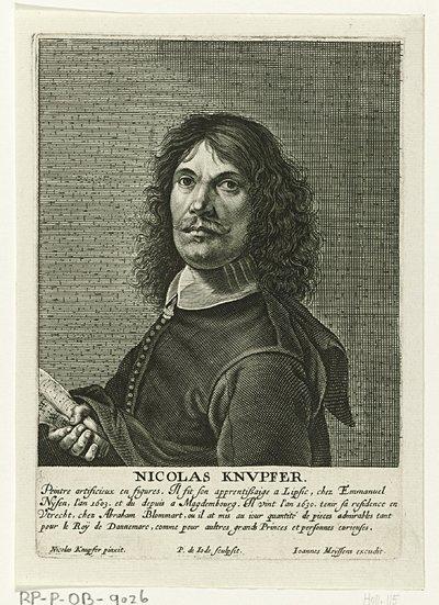 Portret van Nicolaes Knüpfer