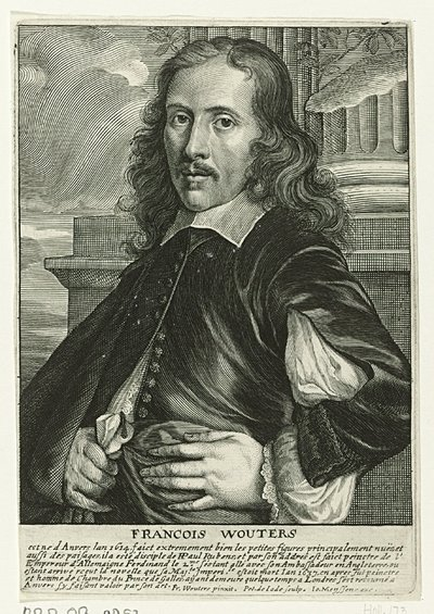 Portret van Frans Wouters
