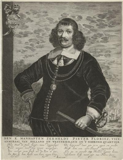 Portret van Pieter Florisse