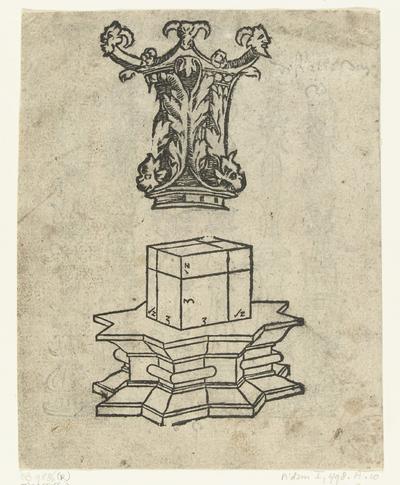 Kapiteel en basement; Latere editie van Ein frembds und wunderbares kunstbüchlin (...)