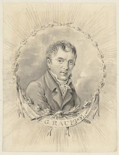 Portret van Jan George Rauppe