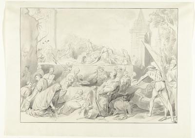 Hongersnood tijdens het beleg van Leiden, 1574