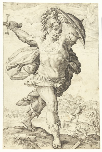 Image from object titled Horatius Cocles | Romeinse helden
