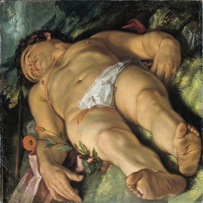 Image from object titled Dying Adonis