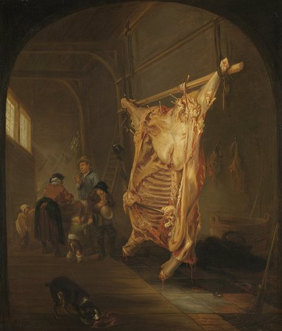 The Slaughtered Ox | Hecken, Abraham van den