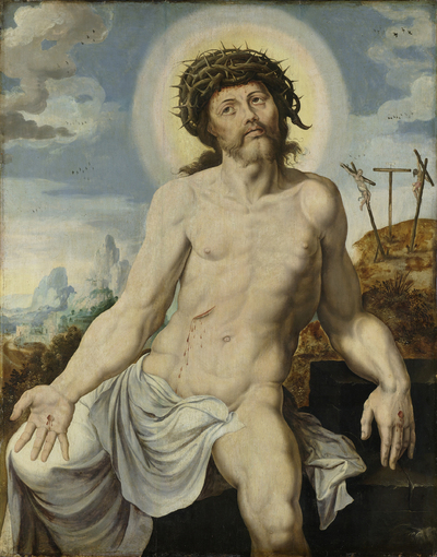 Image from object titled Christ as the Man of Sorrows