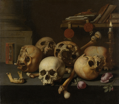 Image from object titled Vanits still life