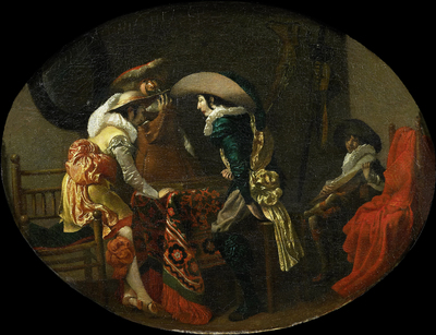 Image from object titled The Tric-trac Players; The Backgammon Players