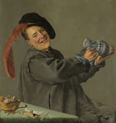 Image from object titled The Jolly Drinker