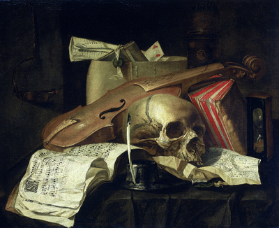 Image from object titled Vanitas still life