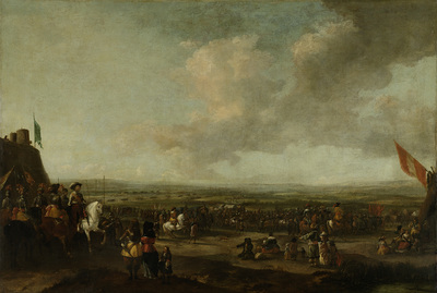 Image from object titled Frederick Henry at the Surrender of Maastricht, 22 August 1632