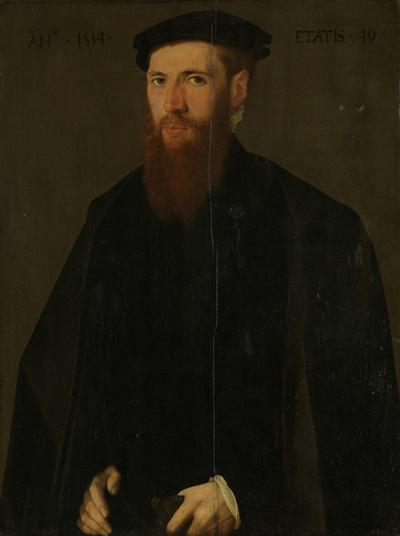 Image from object titled Portrait of Willem van Lokhorst (1514-64)