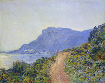 Image from object titled La Corniche near Monaco
