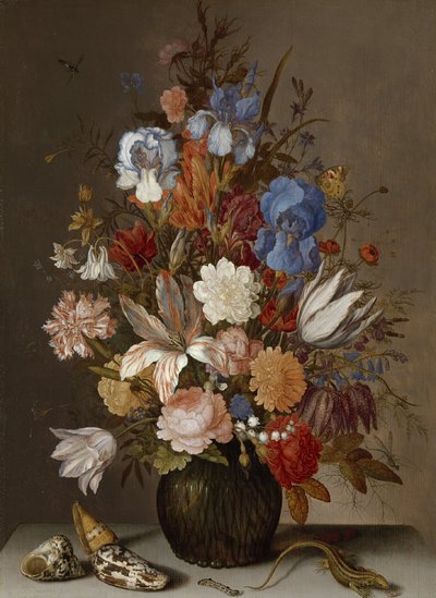 Image from object titled Still Life with Flowers