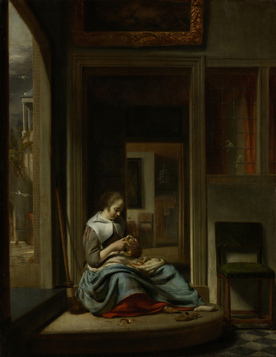 Image from object titled De appelschilster
