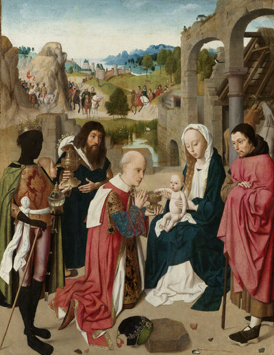 Image from object titled The Adoration of the Magi
