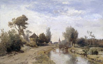 Image from object titled Landscape near Kortenhoef