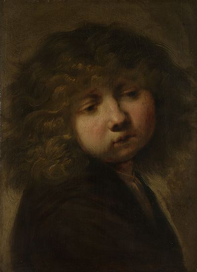 Image from object titled Head of a Boy
