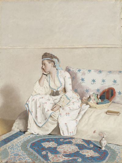 Image from object titled Marie Fargues, the Painter's Wife