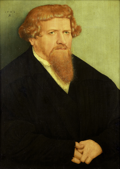 Portrait of a Man | Cranach, Lucas (II)