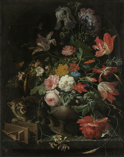 Image from object titled The Overturned Bouquet