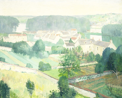 Image from object titled The Village of Sannois
