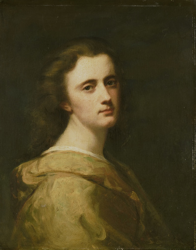 Image from object titled Portrait of Thérèse Schwartze, the Artist's Daughter, at 16 years of age