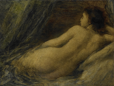 Image from object titled Reclining Nude