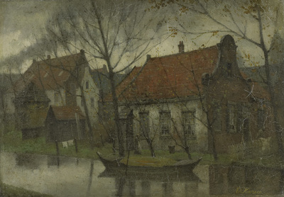 Image from object titled View in a Village