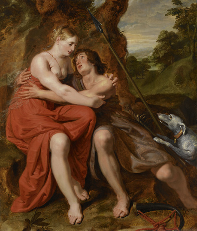 Image from object titled Venus and Adonis