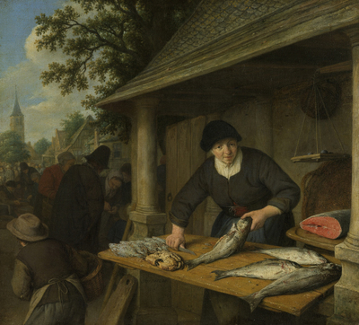 Image from object titled The fishwife