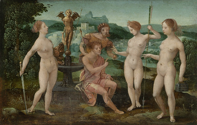Image from object titled Judgment of Paris