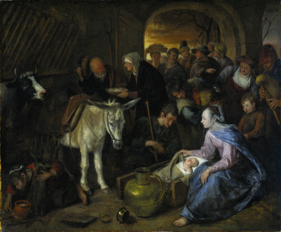 Image from object titled The adoration of the shepherds
