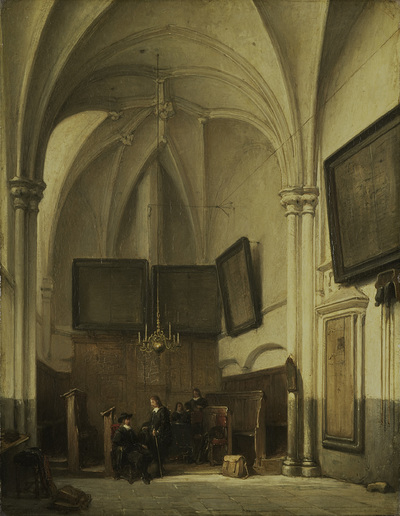 Image from object titled Vestry of the Church of St Stephen in Nijmegen