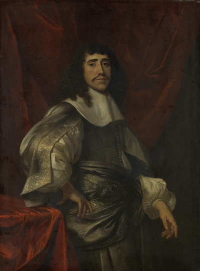Image from object titled Portrait of a Man, thought to be Christoffel van Gangelt, Second Husband of Lucretia Boudaen; Portrait of a man, thought to be Jan van Reygersbergh