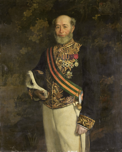 Image from object titled Frederik s'Jacob (1822-1901). Gouverneur-generaal (1880-84)