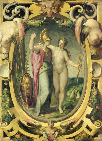 Image from object titled Venus and Minerva