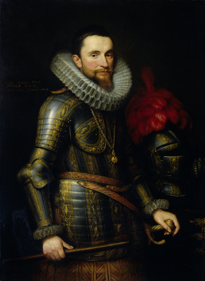 Image from object titled Portrait of Ambrogio Spinola