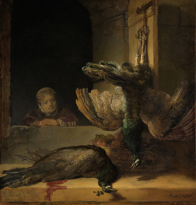 Image from object titled Still Life with Peacocks