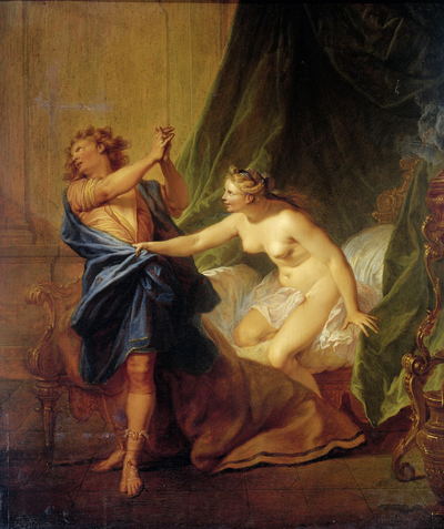Image from object titled Joseph and Potiphar's Wife