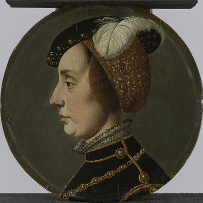 Image from object titled Portrait of Anna of Lorraine, Consort of René de Chalon, Prince of Orange