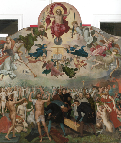 Image from object titled Last Judgment and the Burying of the Dead