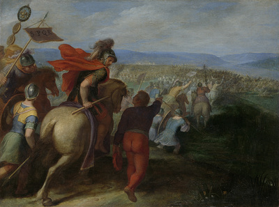 Image from object titled The Romans nearly Overpower the Army of Julius Civilis through the Treachery of a Batavian