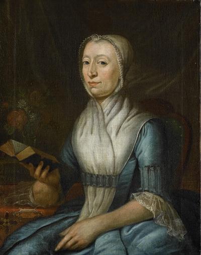 Image from object titled Portrait of Eva Goudriaan-de Veer