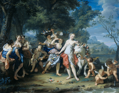 Image from object titled The Rape of Europa