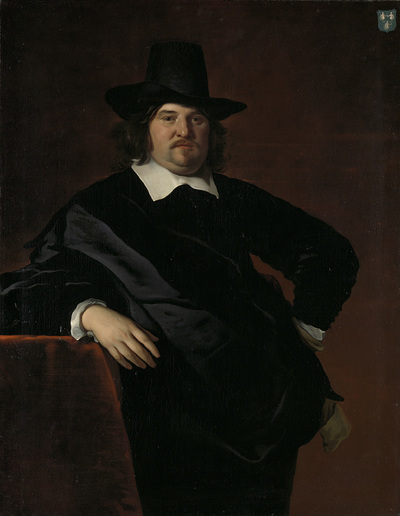 Image from object titled Abraham de Visscher (1605-67). Amsterdam merchant and director of the Dutch West India Company