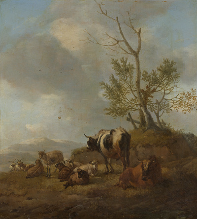 Image from object titled Landscape with Animals