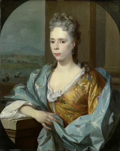 Image from object titled Portrait of Elisabeth van Riebeeck, Daughter of Abraham van Riebeeck, Wife of Gerard van Oosten